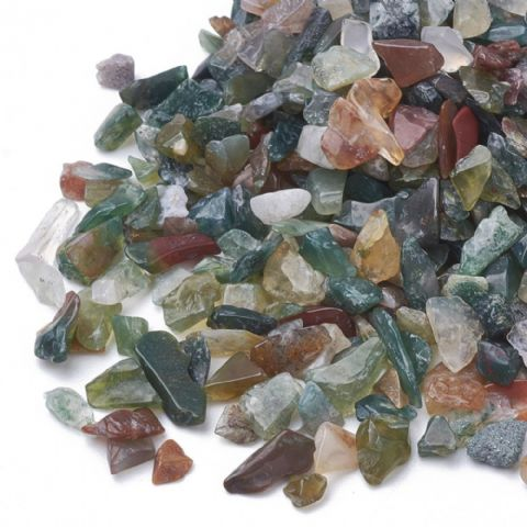 Chips - Natural Indian Agate 1~15mm - 50g